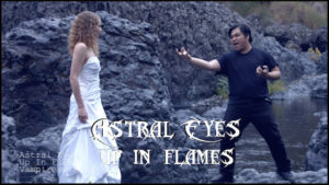 Astral Eyes Up in Flames