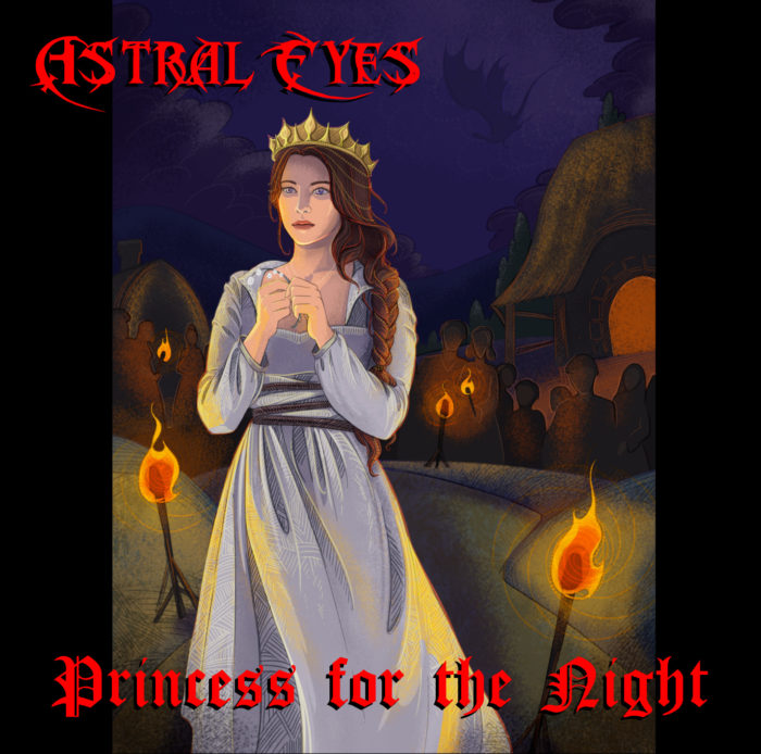 Astral Eyes single Princess for the Night